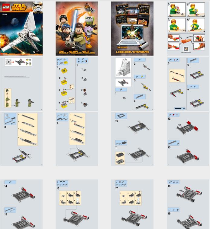 Shopping For Lego Star Wars Imperial Shuttle Tydirium 75094 Building Kit