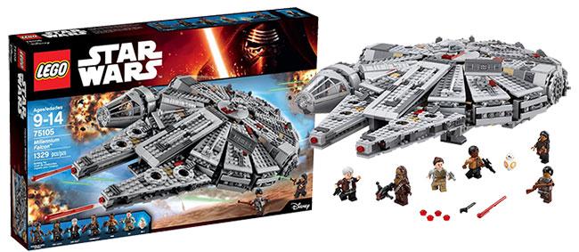 Shopping For LEGO Star Wars Millennium Falcon 75105 Building Kit? -
