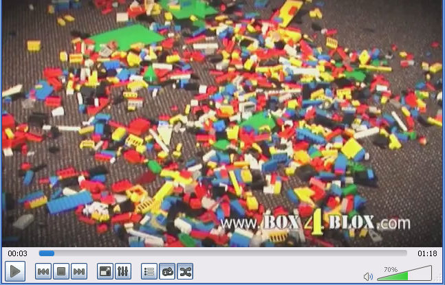 Click to Watch Video of BOX4BLOX Lego Organizer