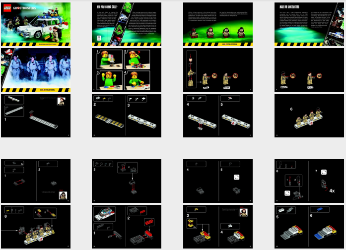 Lego Ghostbusters Ecto 1 21108