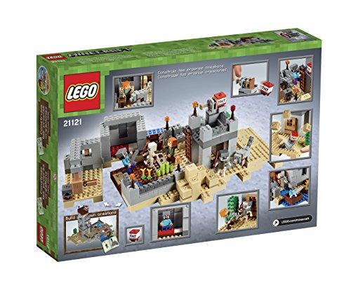 Shopping For LEGO Minecraft 21121 The Desert Outpost Building Kit? -
