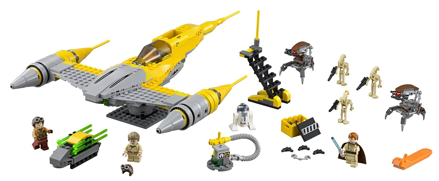 Shopping For Lego Star Wars Naboo Starfighter 75092 Building Set