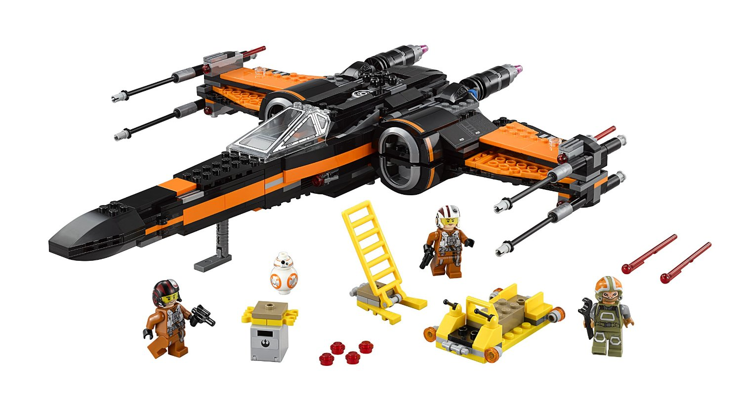 Lego Star Wars Poes X Wing Fighter 75102 Building Kit