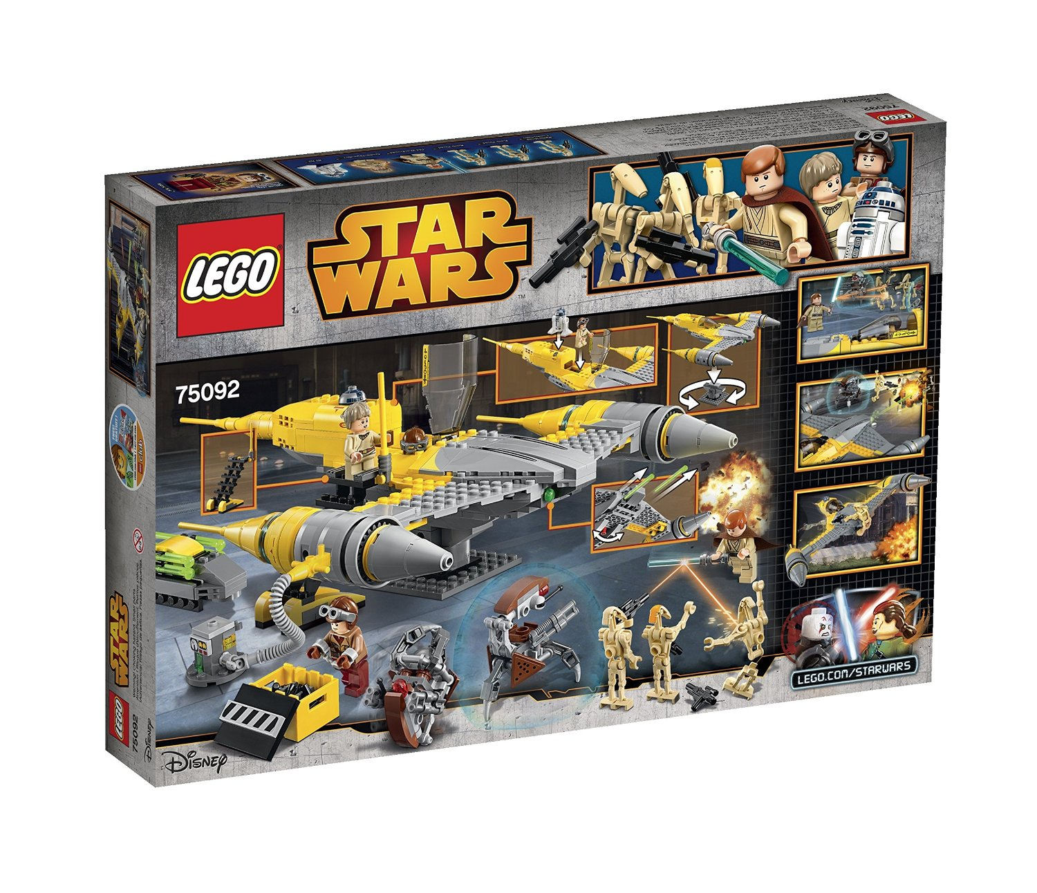 shopping for lego star wars naboo starfighter 75092. Black Bedroom Furniture Sets. Home Design Ideas