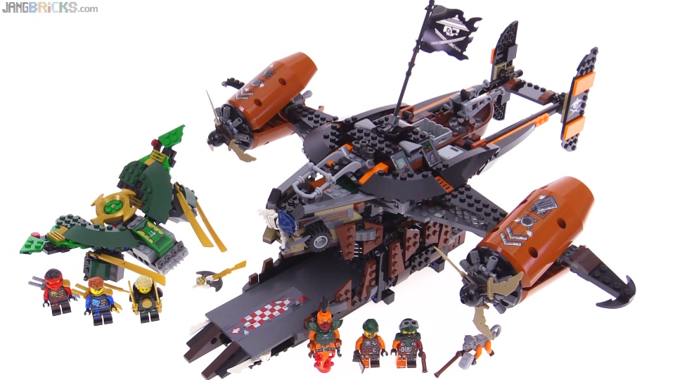Shopping For Lego Ninjago Misfortunes Keep 70605 Building Kit