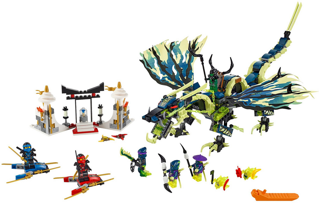 Shopping For Lego Ninjago 70736 Attack Of The Morro Dragon Building Kit