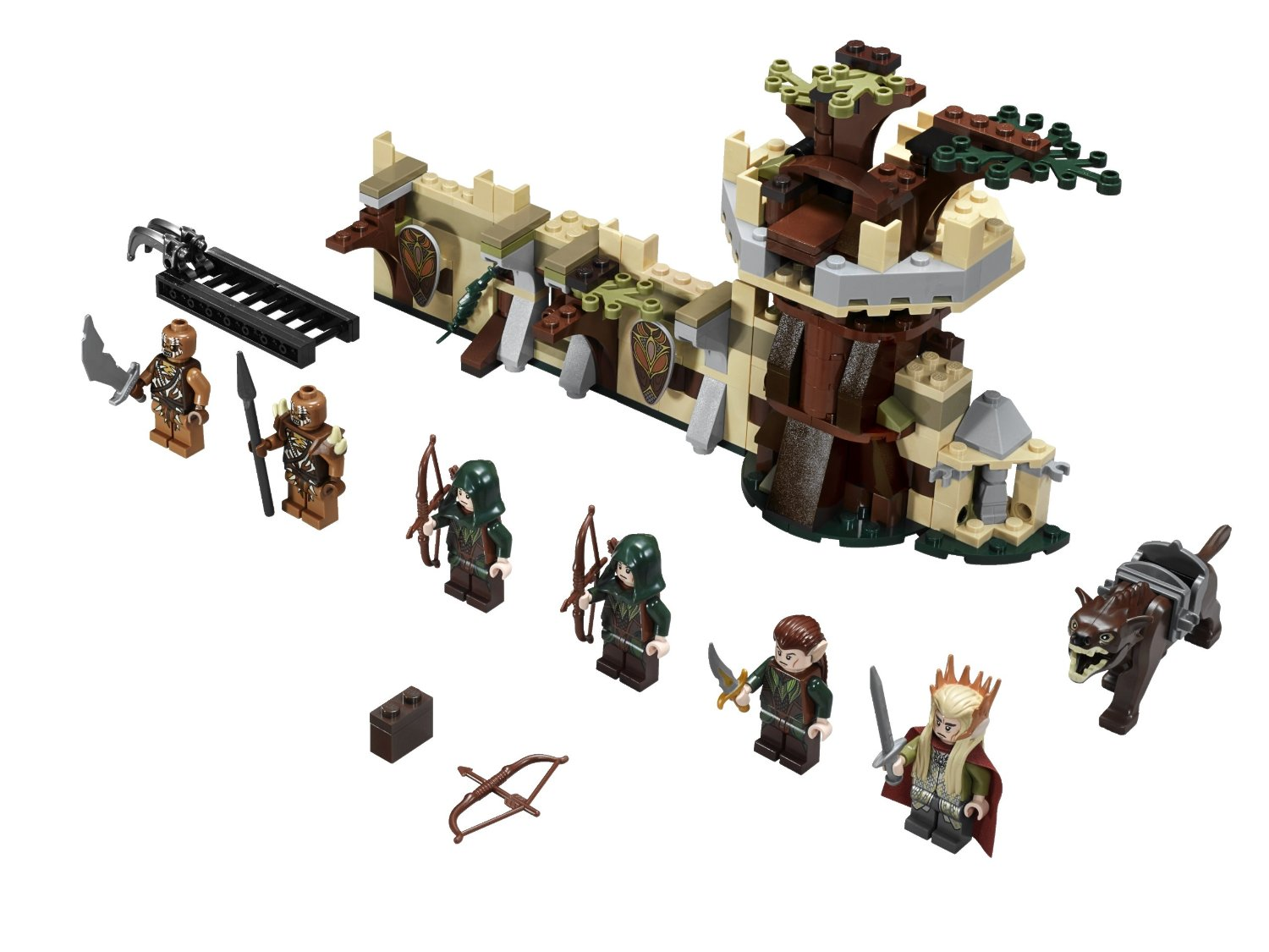 Shopping For Lego The Hobbit 79012 Mirkwood Elf Army Building Set