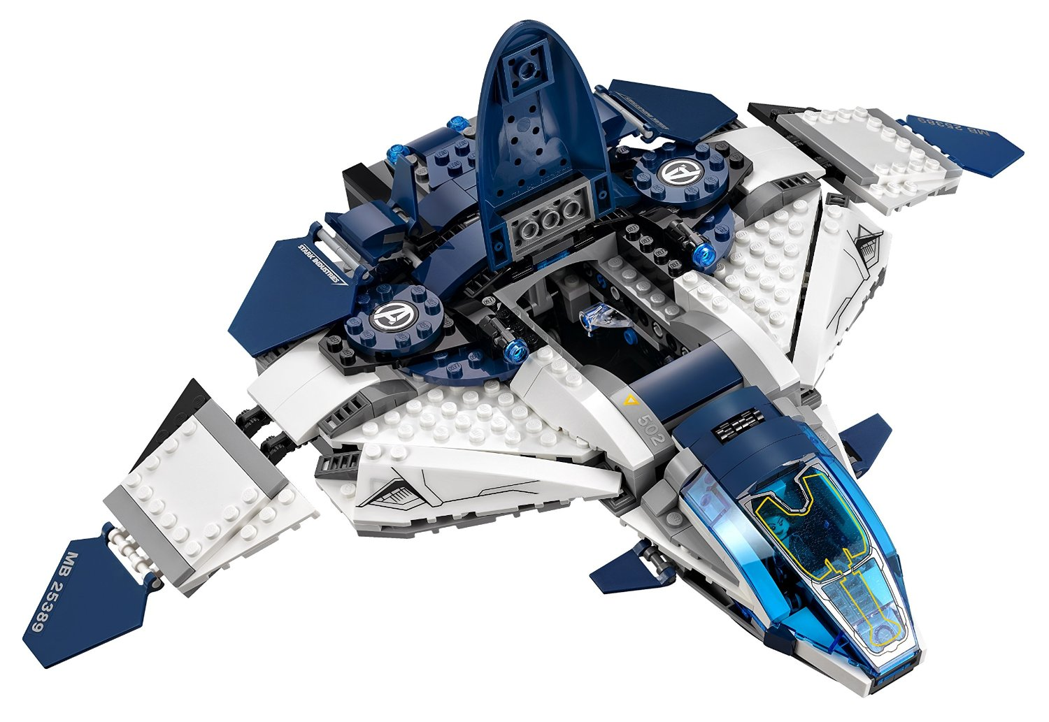 Shopping For LEGO Superheroes The Quinjet City Chase 76032?