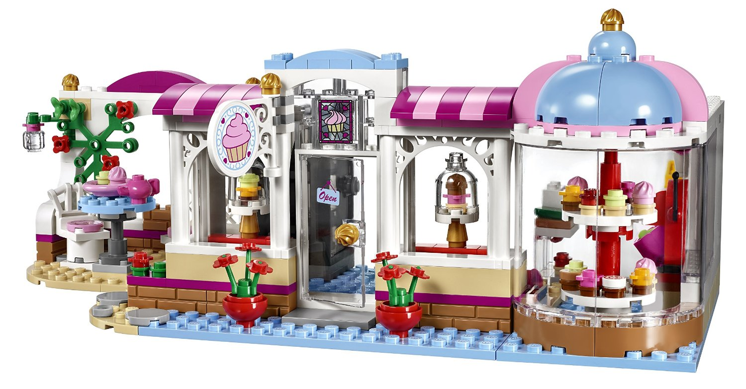 Shopping For Lego Friends Heartlake Cupcake Cafe Building Kit