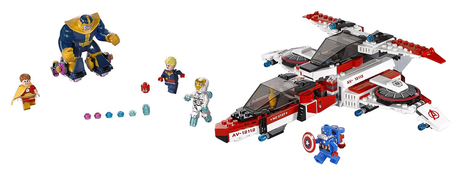 Shopping For LEGO Super Heroes Avenjet Space Mission 76049?