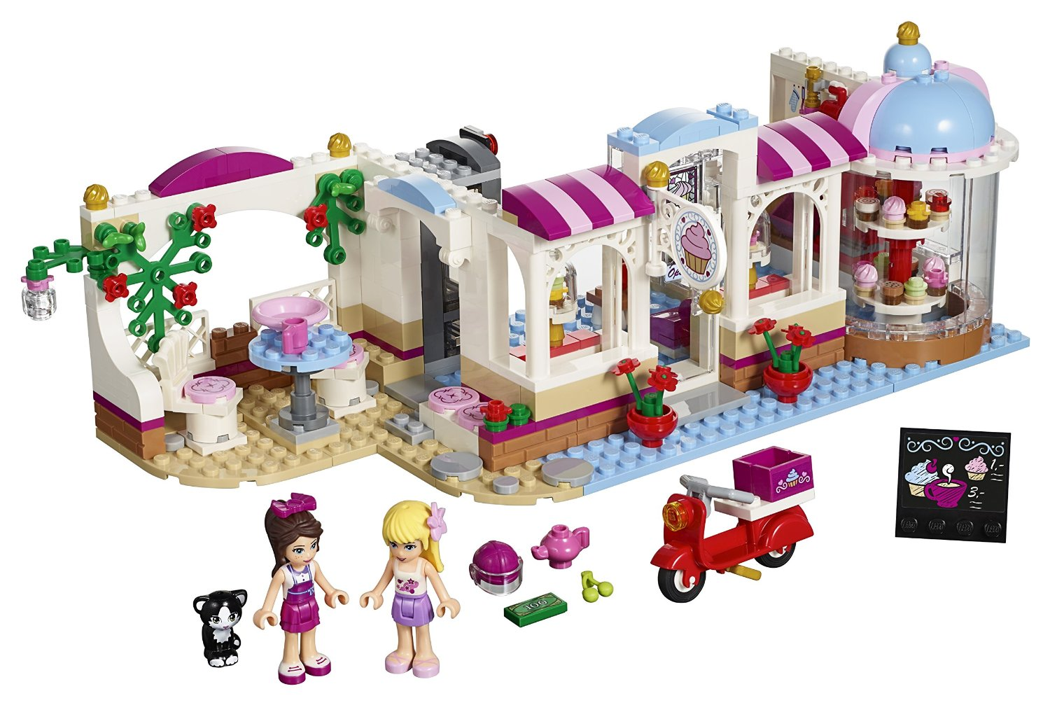 Toys R Us Legos For Girls : Shopping for lego friends heartlake cupcake cafe building kit