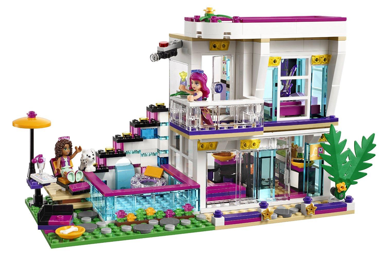 shopping for lego friends livi 39 s pop star house 41135. Black Bedroom Furniture Sets. Home Design Ideas