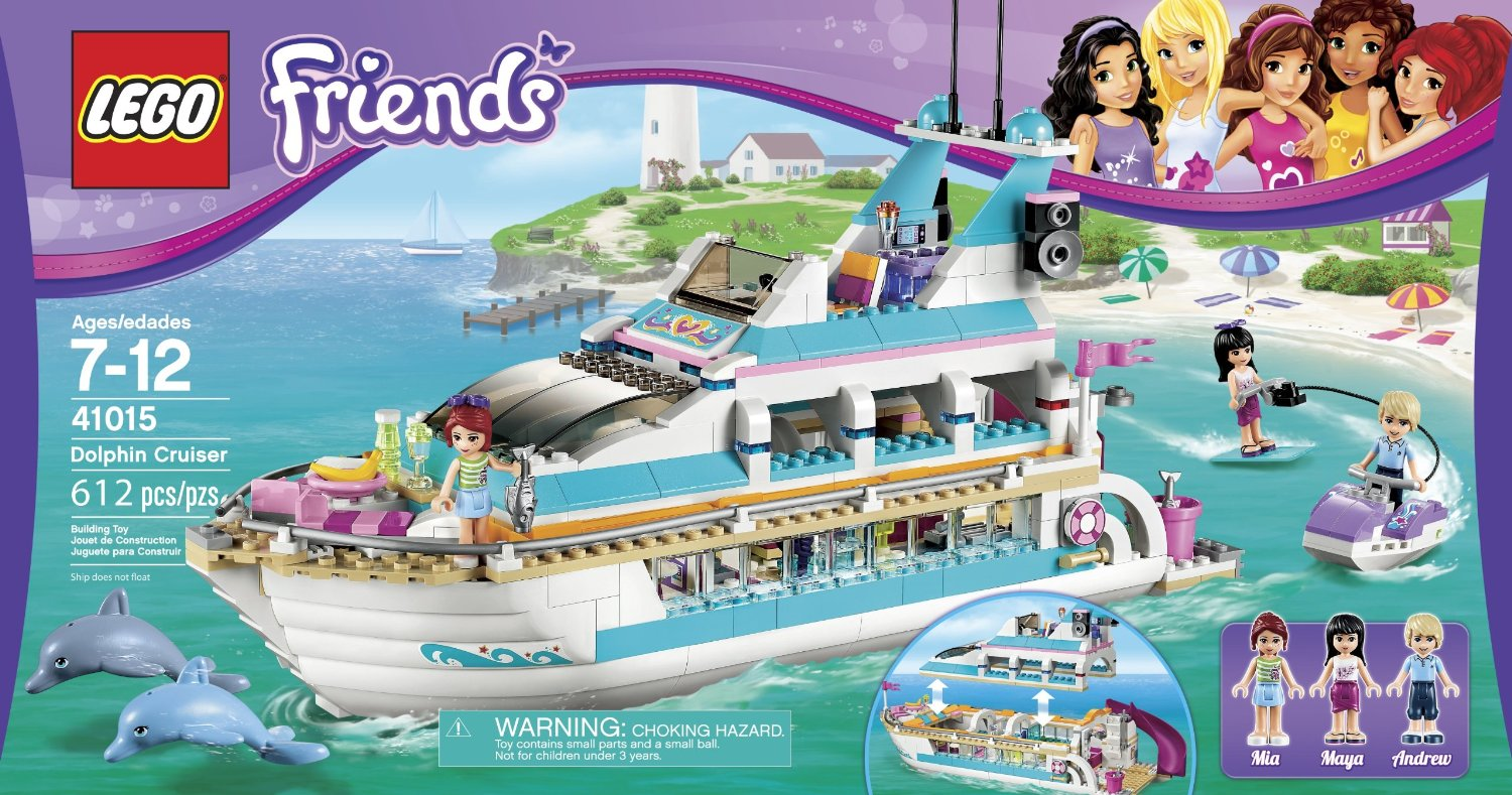Shopping For LEGO Friends Dolphin Cruiser 41015 Building Kit