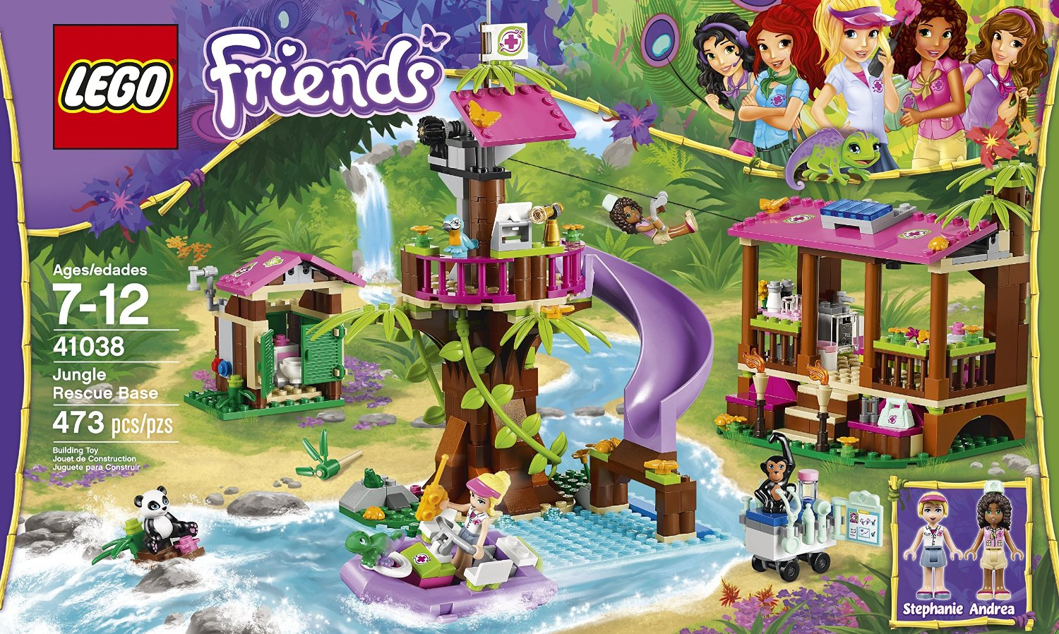 Shopping For LEGO Friends Jungle Rescue Base 41038 ...