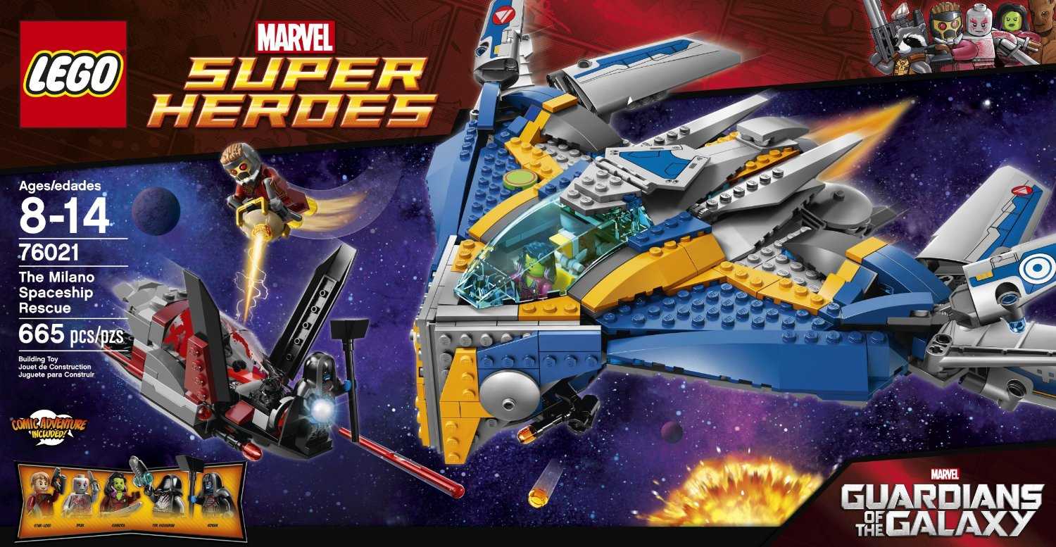 Shopping For Lego Superheroes 76021 The Milano Spaceship