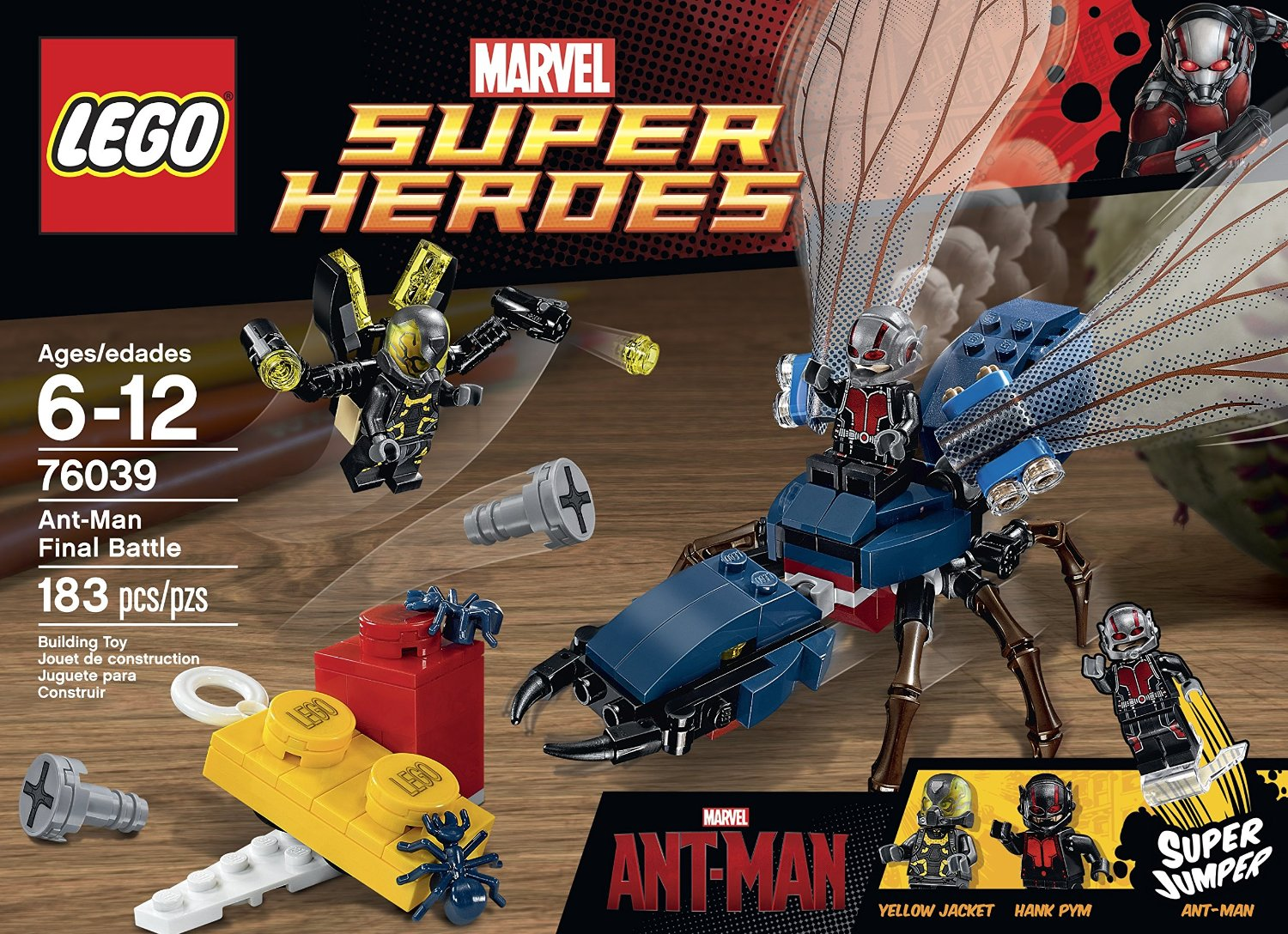 shopping for lego superheroes marvels antman 76039