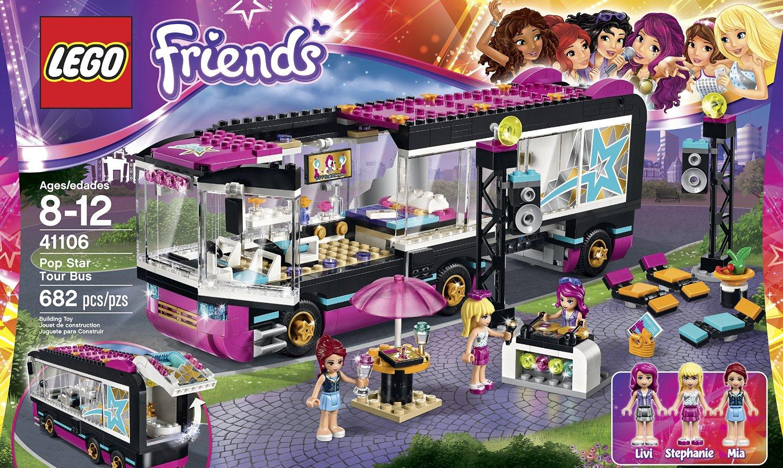 Shopping For Lego Friends 41106 Pop Star Tour Bus Building