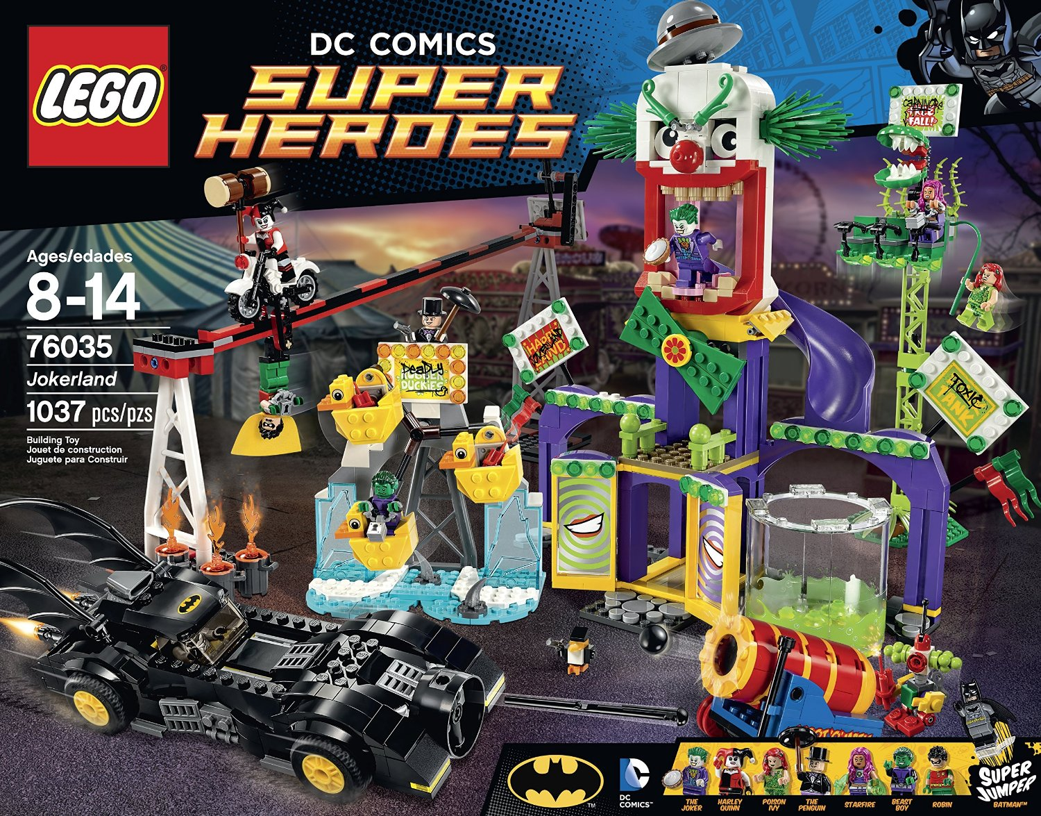 Lego Super Heroes  Jokerland Building Kit