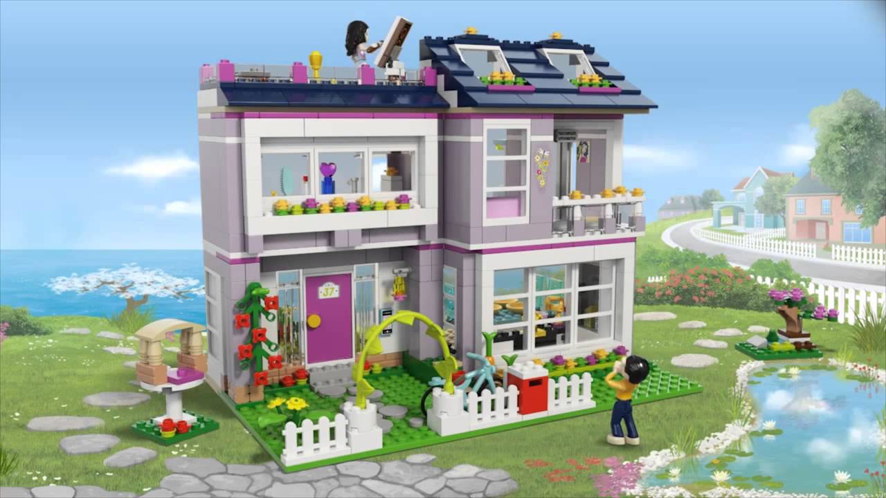 Shopping For Lego Friends 41095 Emmas House Building Set