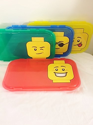 Shopping for 4 lego city minifigure storage convenient for Case lego city