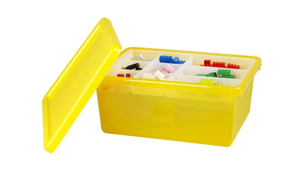 Check out information on The Lego Storage Bin Medium including links to instructional videos product and customer reviews u0026 how and where to go to buy ...  sc 1 st  Box4Blox & Shopping For LEGO Storage Bin Medium Yellow?