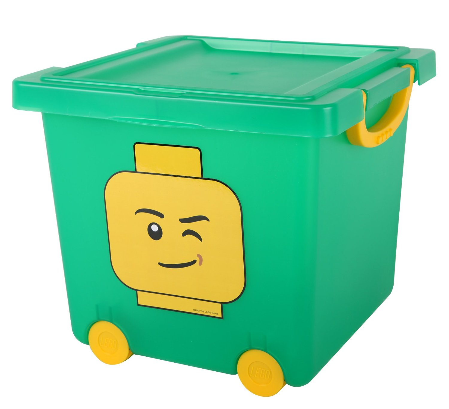 71So5+-lf9L._SL1500_  sc 1 st  Box4Blox & Shopping For IRIS LEGO Square Stacking Basket with Lid and Wheels ...