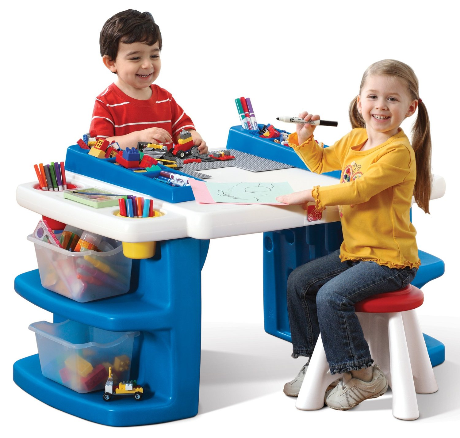 Shopping For Step2 Build And Store Block And Activity Table