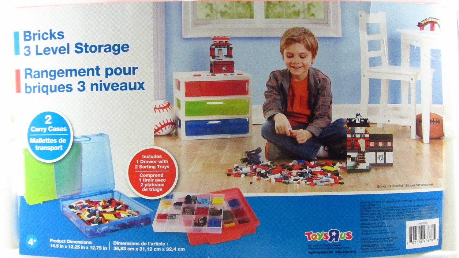 Check out information on The Toys u0027Ru0027 Us Heavy Duty Construction Bricks 3-Level Storage including links to instructional videos product and customer ...  sc 1 st  Box4Blox & Shopping For Toys u0027Ru0027 Us Heavy Duty Construction Bricks 3-Level Storage?