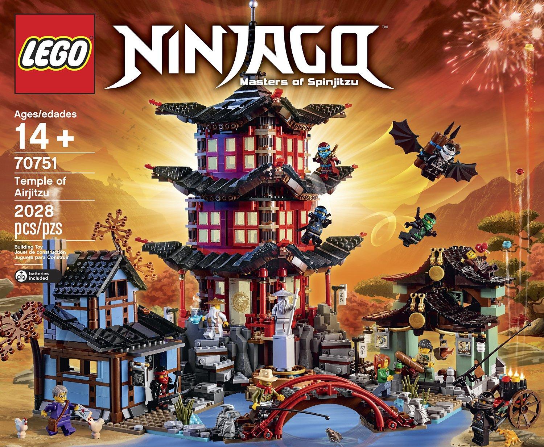 Shopping For Lego Ninjago Temple Of Airjitzu 70751