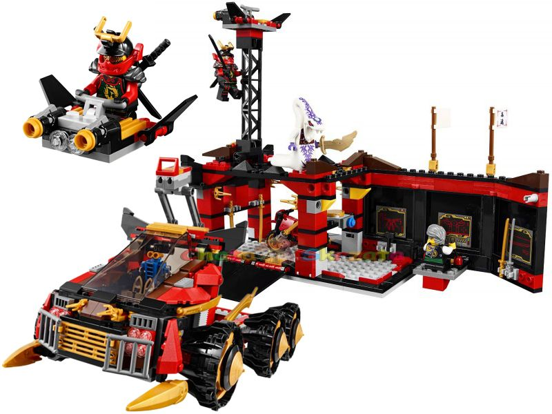 ... Organizer Shopping For LEGO Ninjago Ninja DB X Toy 70750 Building Kit