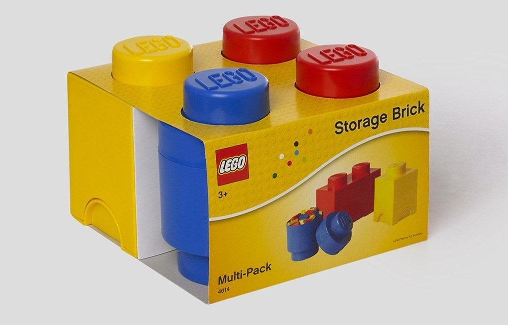 Attirant Lego Storage Brick Set Of Three