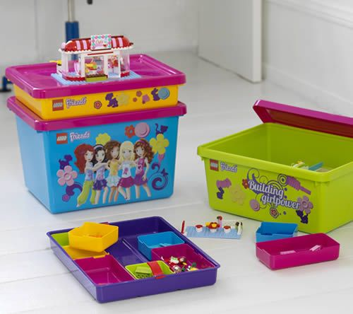 Shopping For Lego Friends Sorting System For Storage Lime