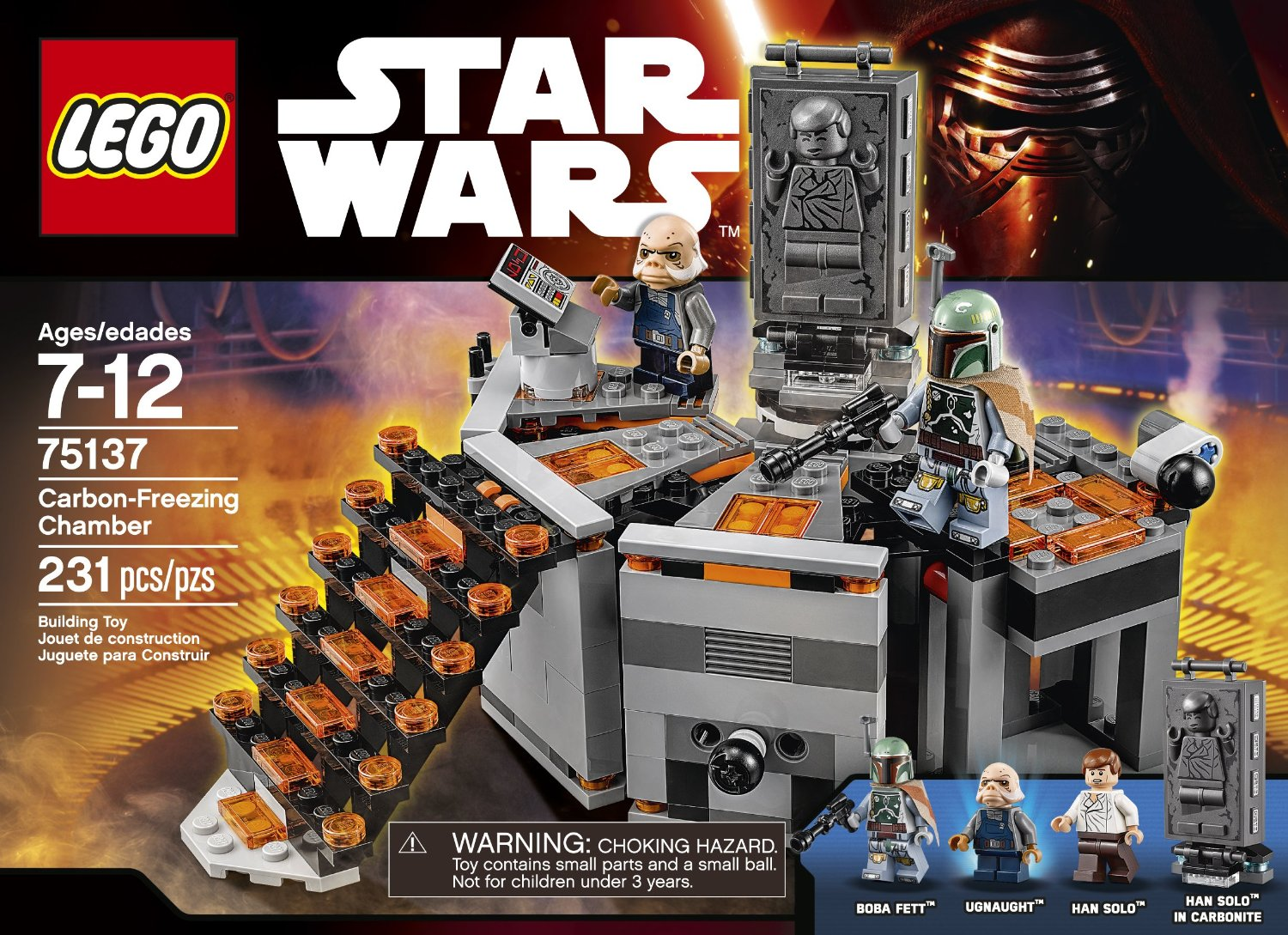 Shopping For Lego Star Wars Carbon Freezing Chamber 75137